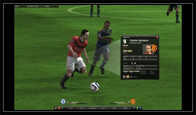 Fifa Manager 11 Football Game Screen pc