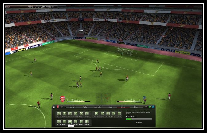 Fifa manager 10 Hd screen