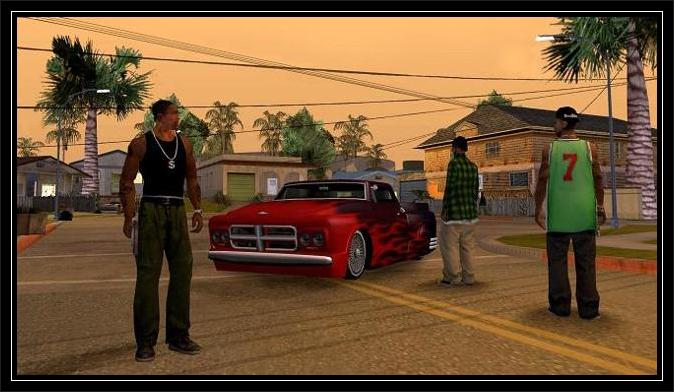 Gta San Andreas Gangs screen