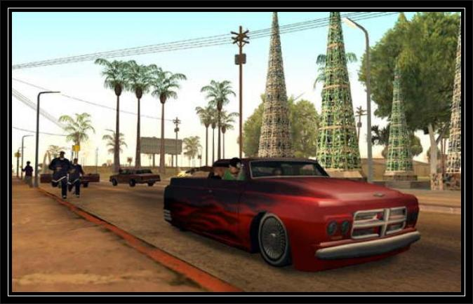 Gta San andreas Car HD screen  1
