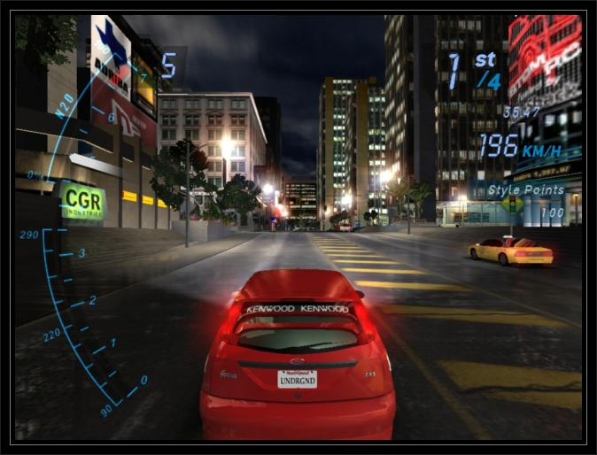 Need For Speed underground Car Hd