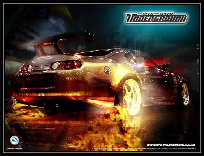 Need for speed Underground Pc Cover