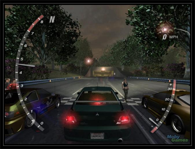 Need for speed underground Screen