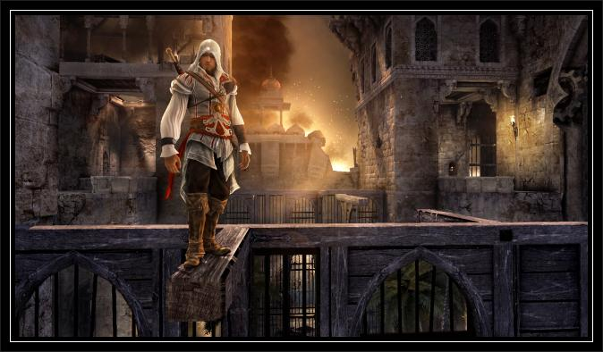 Prince Of Persia Forgotten Sands wallpaper