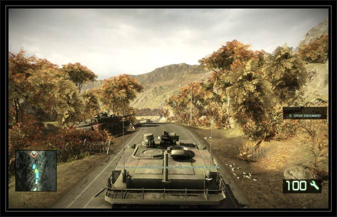 Battlefield Bad Company 2 Screen