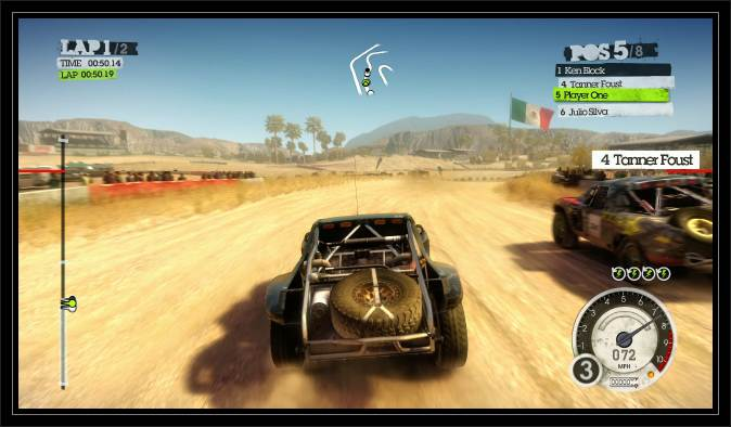 Dirt 1 pc racing game