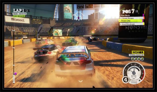Dirt 1 HD screen free