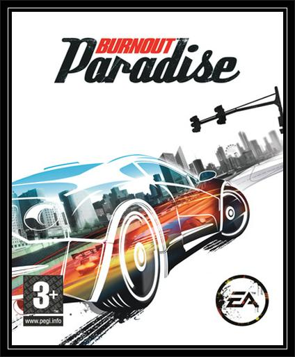 Burnout Paradise front Cover