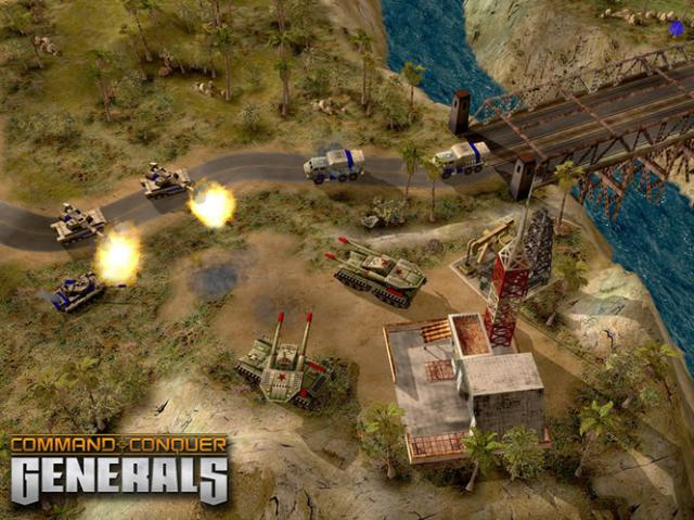 Download Command and Conquer Generals free Pc